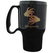 Harris Communications N295BK Interpreter Travel Mug - Black