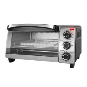 BLACK+DECKER Natural Convection Toaster Oven, Stainless Steel, TO1755SB