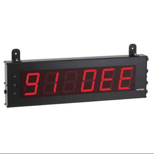 RED LION LD4SS6P0 4in Hi 6-Digit LED Serial Slave Display