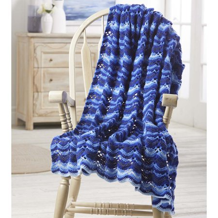 Herrschners® Ocean Waves Afghan Kit
