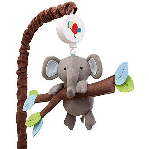 Treetop Buddies Musical Mobile by Lambs %26 Ivy