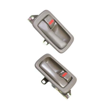 CF Advance For 92-96 Toyota Camry Front or Rear Pair SET 2PCS Interior Inside Door Handle Brown 1992 1993 1994 1995 1996