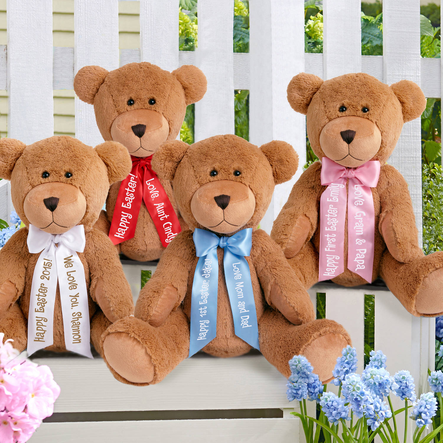 Personalized 27 giant teddy bear walmart negle Choice Image