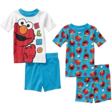 1eb2c56e6 Sesame Street - Elmo Infant Baby Boy  Mix n  Match Short Sleeve ...