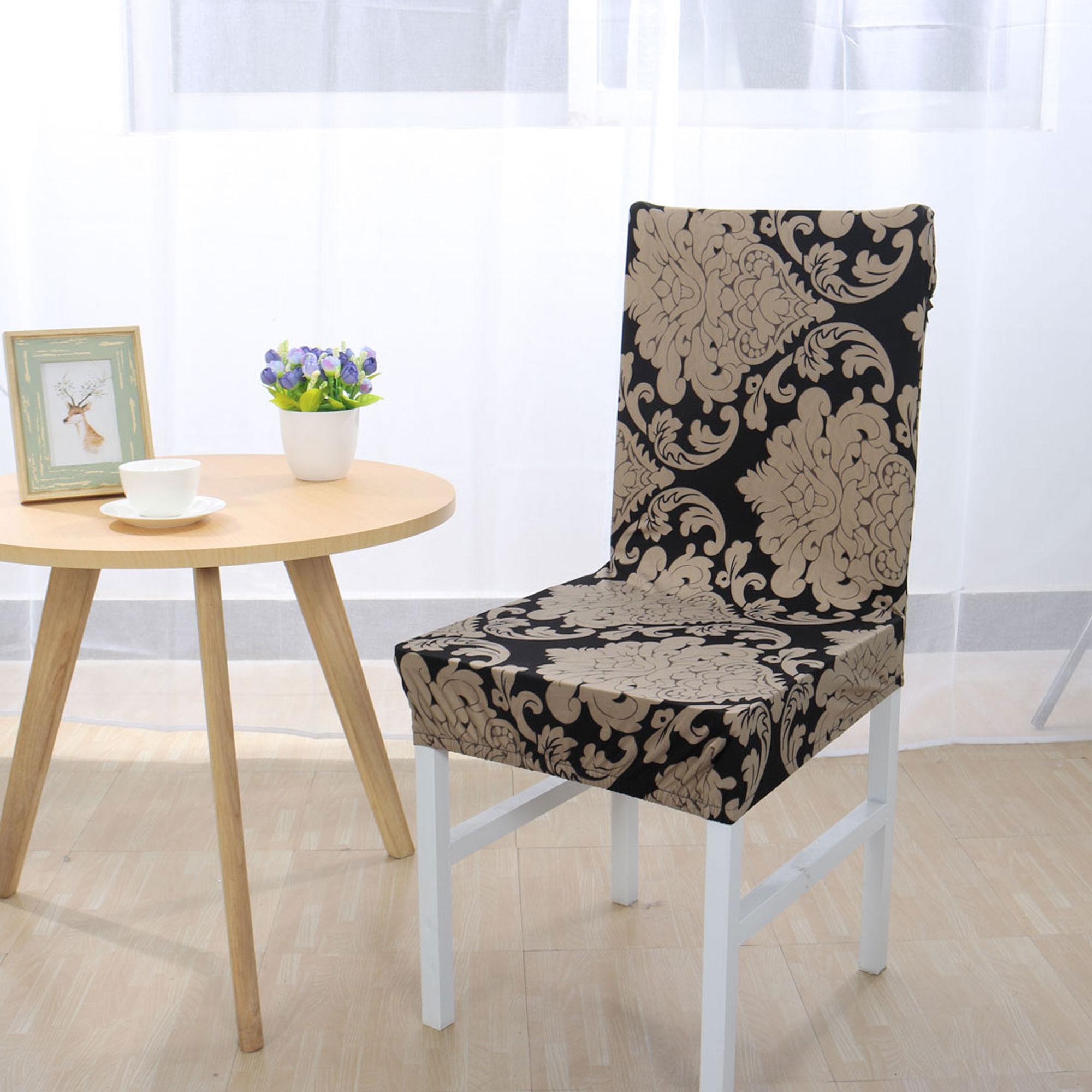 Spandex Stretch Removable Washable Room Chair Cover Protector Slipcover