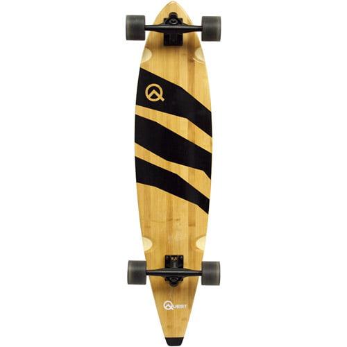 "Quest 40"" Epic Classic Bamboo Longboard Skateboard"