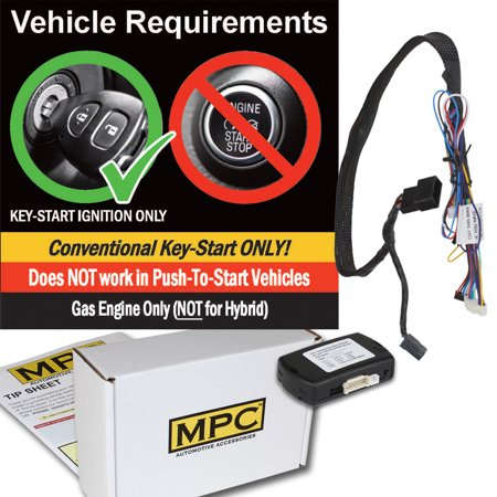 OEM Remote Activated Remote Start Kit For 2008-2013 Dodge Avenger - Plug-n-Play (Dodge Avenger Eagle)