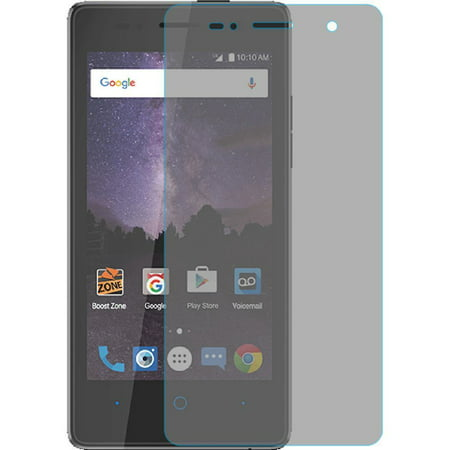 HR Wireless Clear Tempered Glass Screen Protector LCD Film Guard Shield for ZTE Majesty Pro LTE (Glass Pro Lcd)