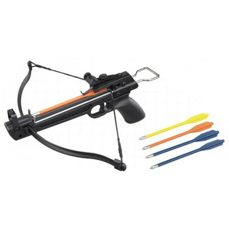 NEW Hand Held Hunting Archery 50LB PISTOL CROSSBOW Gun/ With 5 Bolts](Costume Crossbow)