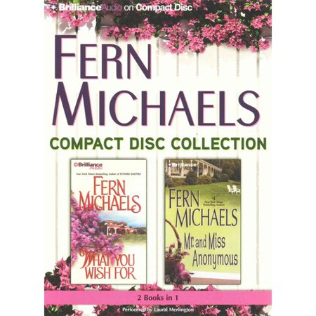 Fern Michaels CD Collection 2: What You Wish for   Mr. and Miss Anonymous by