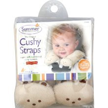 Summer Infant Cushy Straps Strap Cushions - 1 Ea, 3 Pack