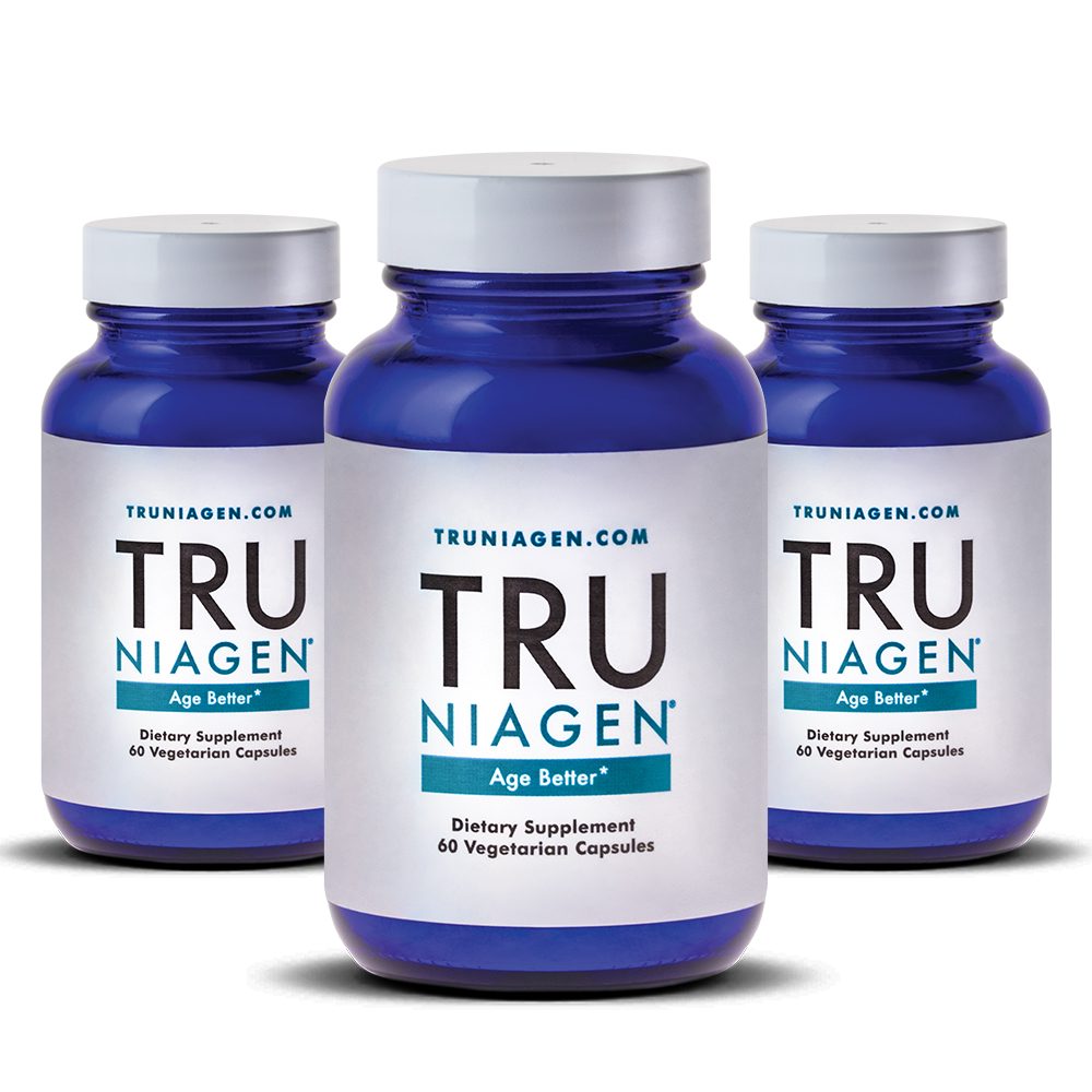 TRU NIAGEN – Nicotinamide Riboside NR, Advanced NAD Supplement - Vitamin B3 - Vegetarian Capsules - Developed by ChromaDex