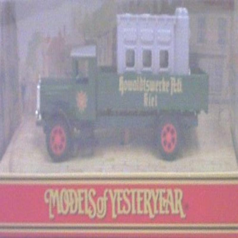 "Matchbox Models of Yesteryear Y41 1932 Mercedes Benz L5 ""Howaldtswerke A-G kiel""... by"