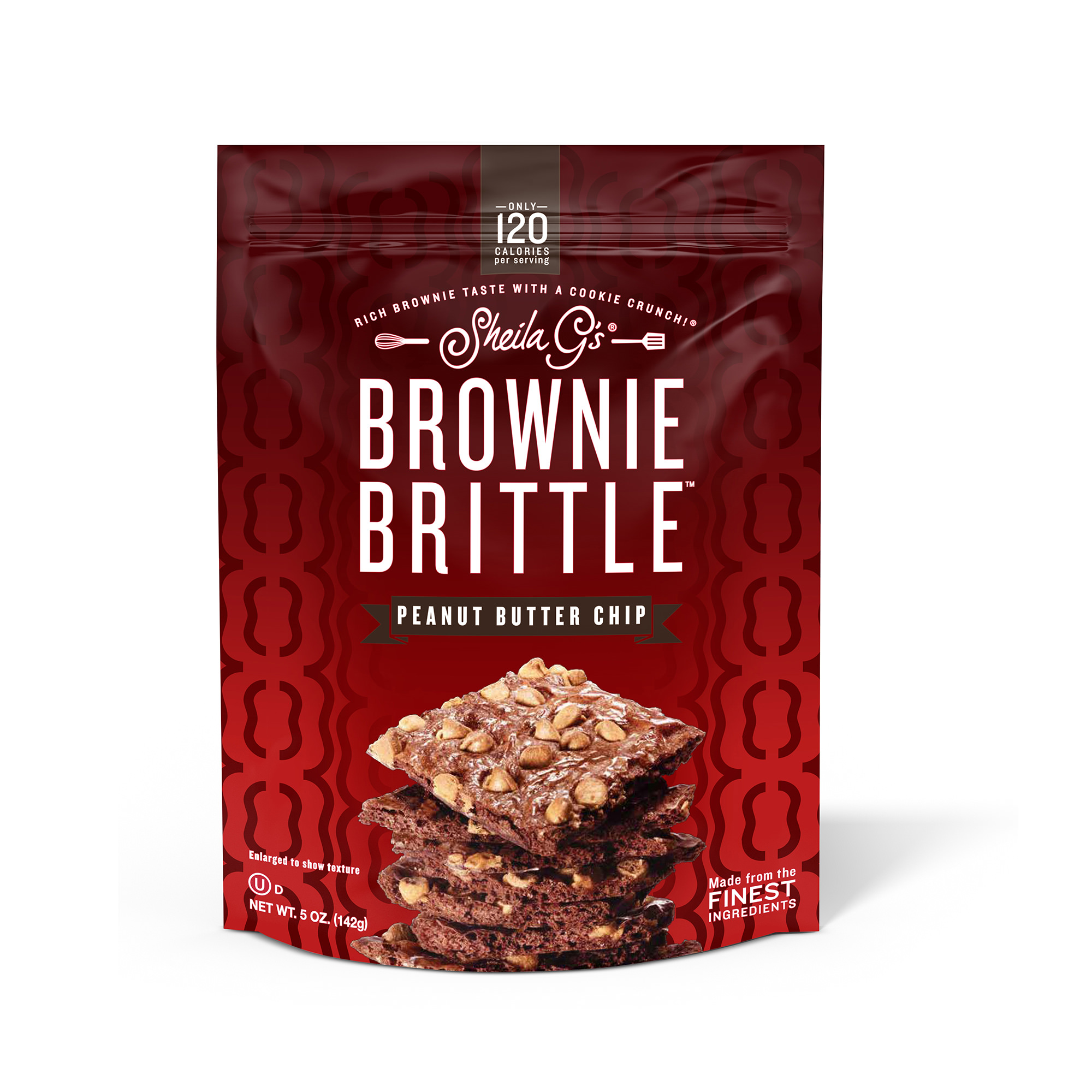 Sheila G's Brownie Brittle Peanut Butter Chip Cookie Snack Thins, 5oz