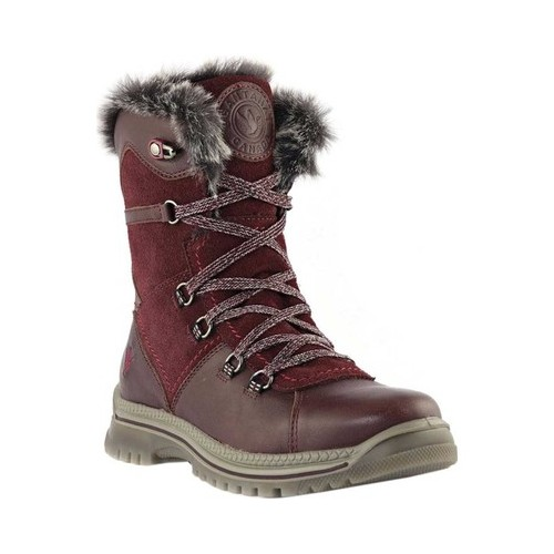Women's Santana Canada Majesta Luxe Short Waterproof Boot Bordeaux Leather 11 M - image 6 de 6