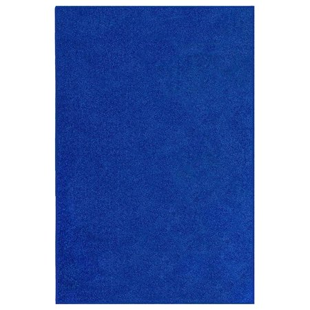 Starwars Collection Solid Color Area Rugs Neon Blue - 2'x4' ()