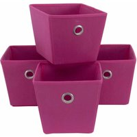Mainstays Non-Woven Bins 4-Pack