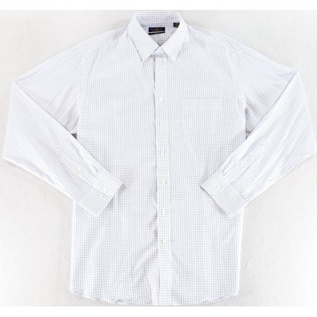 Club Room NEW White Regular Fit Pinpoint Mens Size 15 1/2 Dress Shirt ()