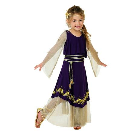 Toddler Aphrodite Goddess Costume - Aphrodite Costumes