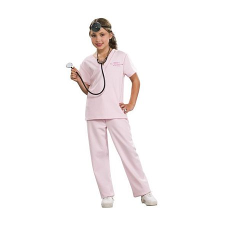 Pink Vet Child Halloween Costume