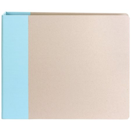 Modern 12x12 D-Ring Album: Blue By American Crafts Ship from -
