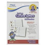 Mead Cursive Letters Dry Erase Book, Bilingual