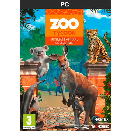 Zoo Tycoon Ultimate Animal Collection (PC Game) Let your imagination run wild! (Puzzle Games For Computer)