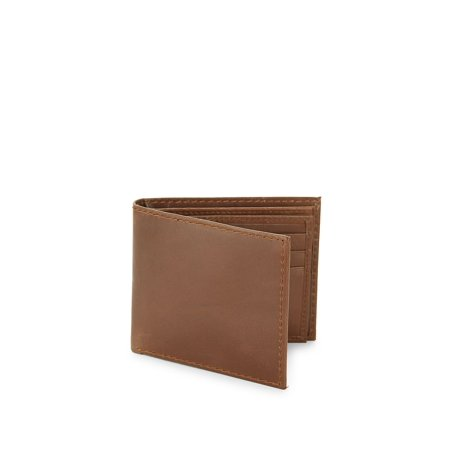 09924494c7 RFID-Protection Extra-Slim Leather Billfold Wallet