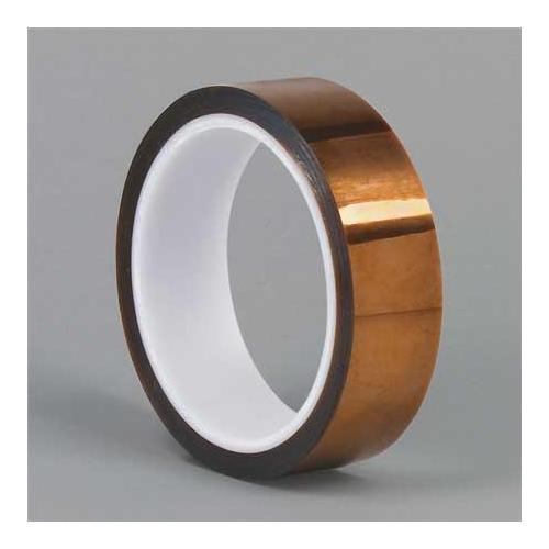 DUPONT Kapton HN Film Tape, Polyimide, Amber, 1/2In x 100 Ft G4294613