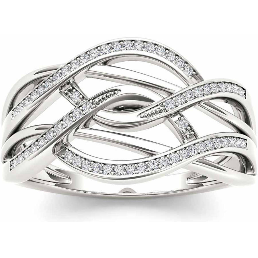 Imperial 1/6 Carat T.W. Diamond 10kt White Gold Fashion Ring