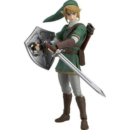 Legend of Zelda Twilight Princess Link Figma DX Action Figure (Link Action Figure)
