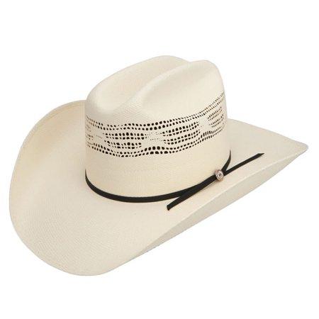 3d228971 Resistol PRCA - Bangora Straw Cowboy Hat - Walmart.com