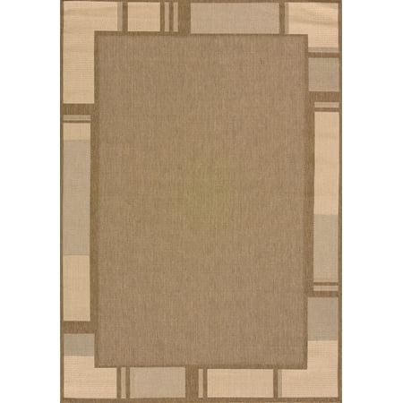 United Weavers Solarium Terrace Brown Accent Rug 2'7'' x 4'2'' ()