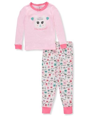 Product Image Toddler Girl Tight Fit 2pc Pajama Set 8265b5967
