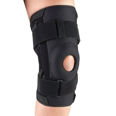 OTC Orthotex Knee Stabilizer - Spiral Stays, Black,