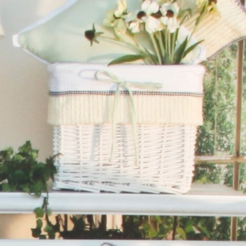 Brandee Danielle Flutter Bee Wicker Basket