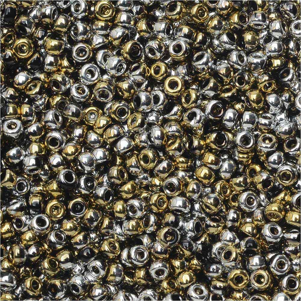 1 Gram Beads: BeadSmith Unions, 11/0 Round Seed Beads, 24 Gram Tube