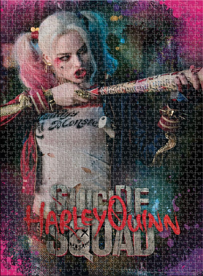 Suicide Squad Harley Quinn 1,000 Piece Puzzle Jigsaw Puzzle 20x27 by NMR DISTRIBUTION NOVELTY