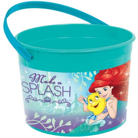 Little Mermaid Plastic Favor Container (Each) - Party Supplies - Mermaid Supplies