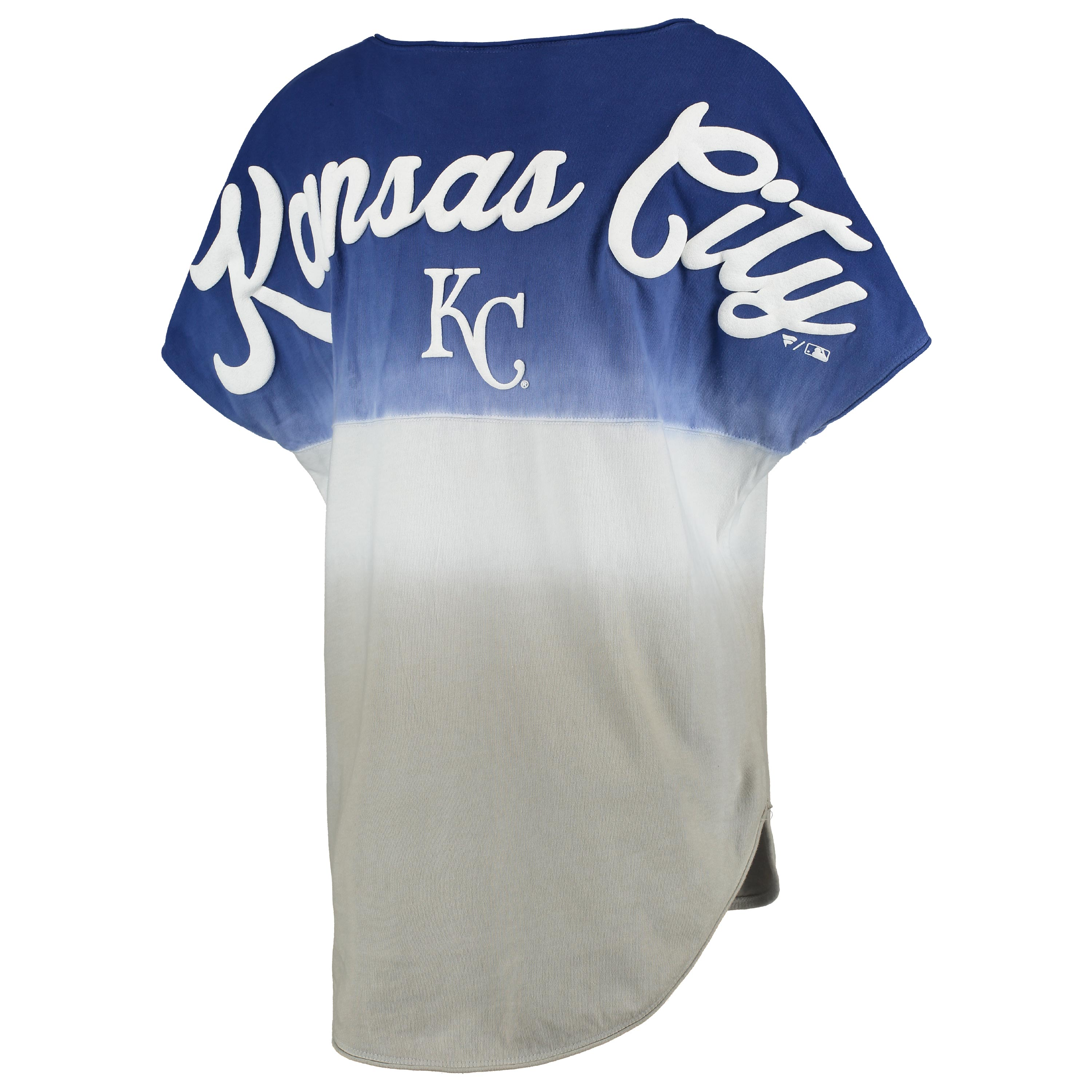 Kansas City Royals Women's Oversized Sleeveless Ombre Spirit Jersey - Royal