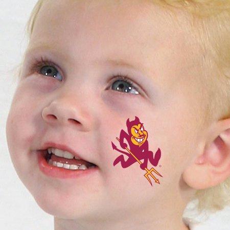 Arizona State Sun Devils Temporary Tattoos - No - Angel Devil Tattoo