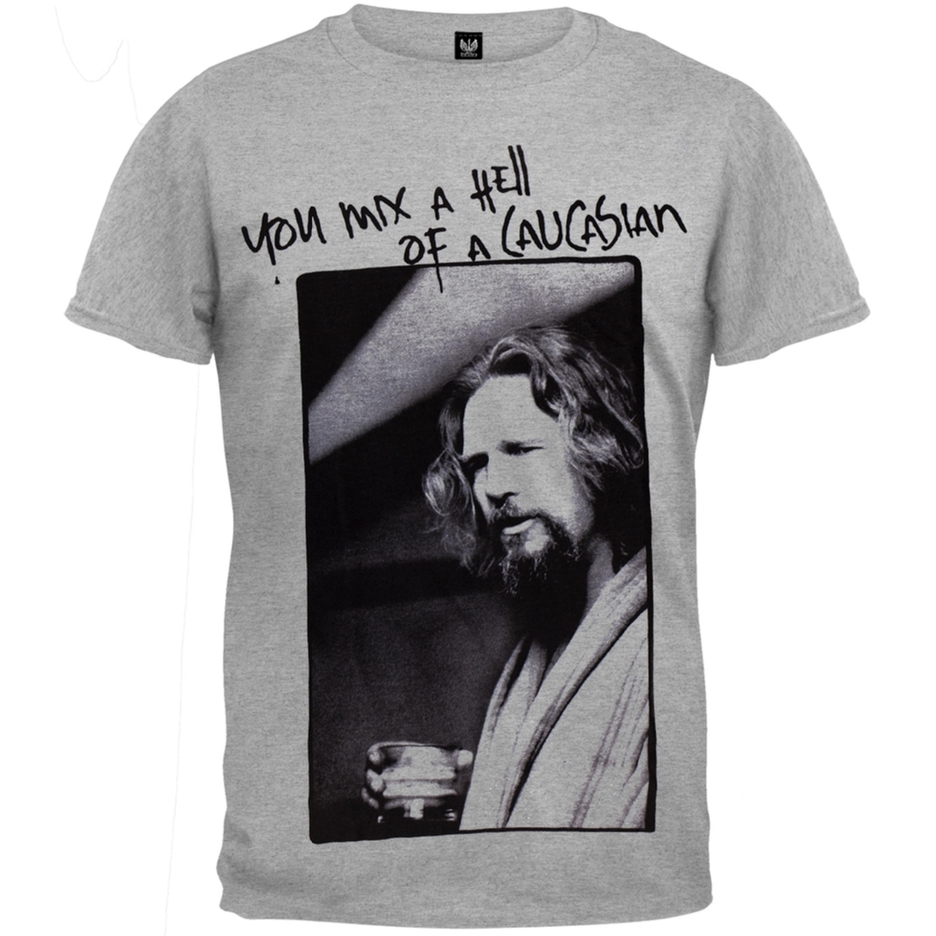 Big Lebowski - Hell of a Caucasian Soft T-Shirt