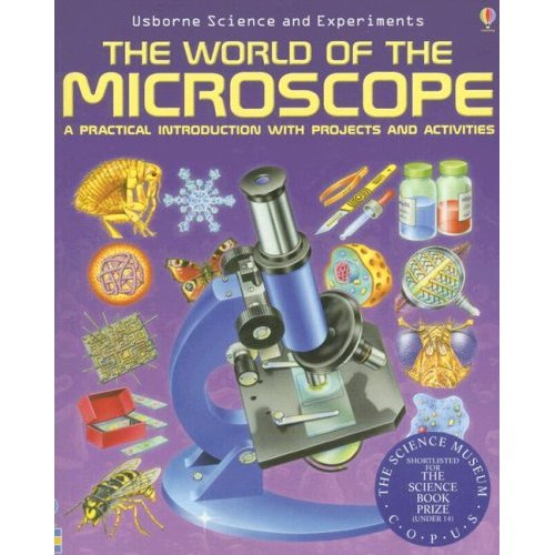 AmScope The World of The Microscope (Science and Experiments)