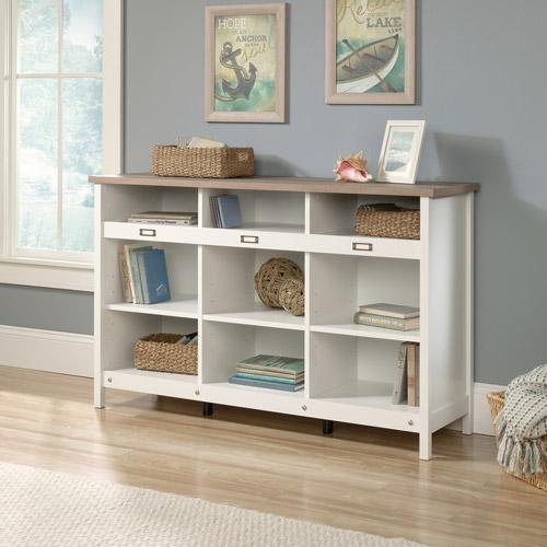 Sauder Adept Storage Credenza, Soft White by Sauder Woodworking