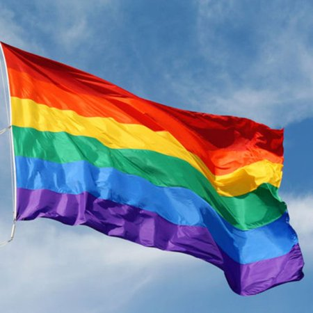 GTP Rainbow Flag 3x5 FT Polyester Flag Gay Pride Lesbian Peace LGBT Flag w/ Grommets](Rainbow Flags Wholesale)