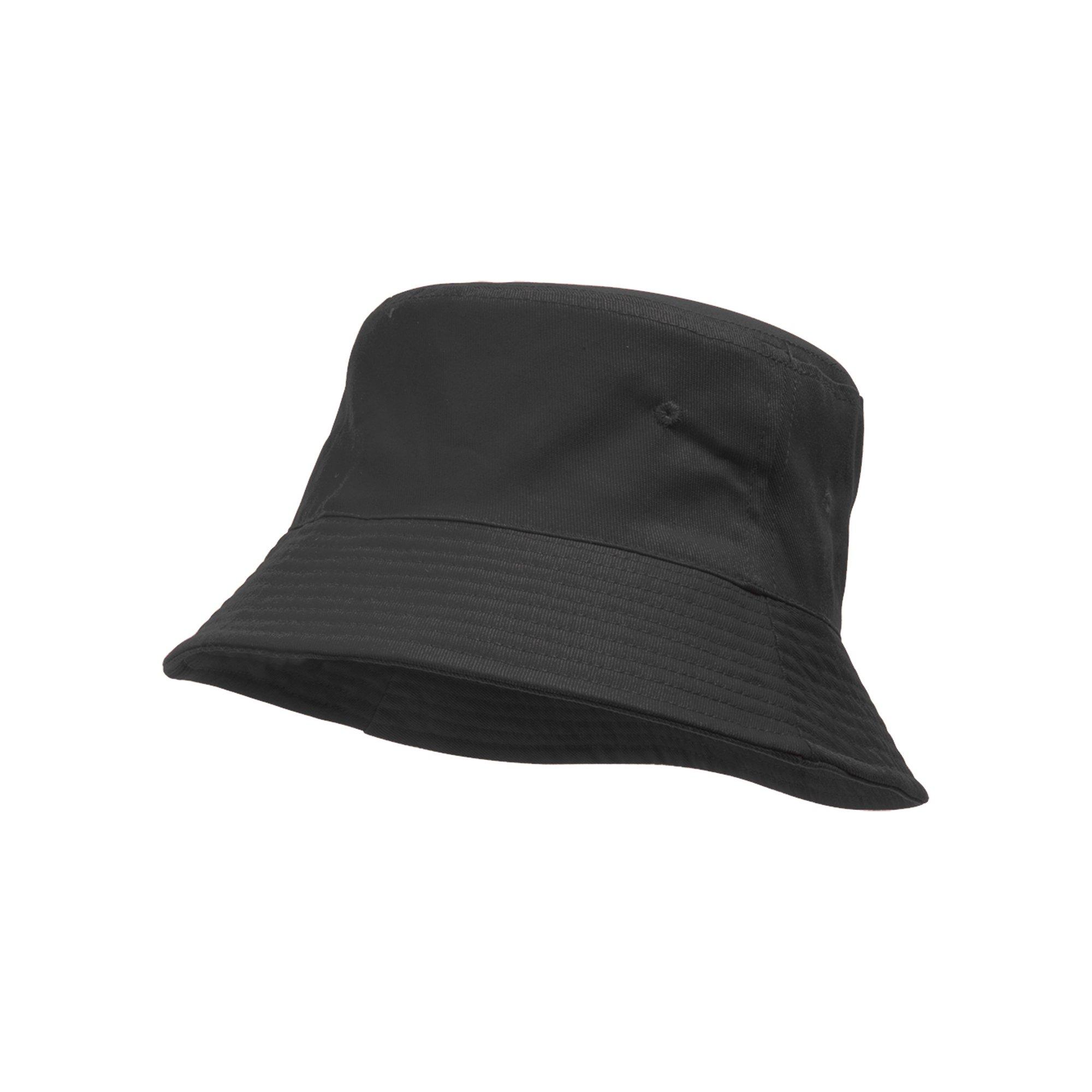 d560942e1 TopHeadwear Blank Cotton Bucket Hat - Dark Gray - Small/Medium