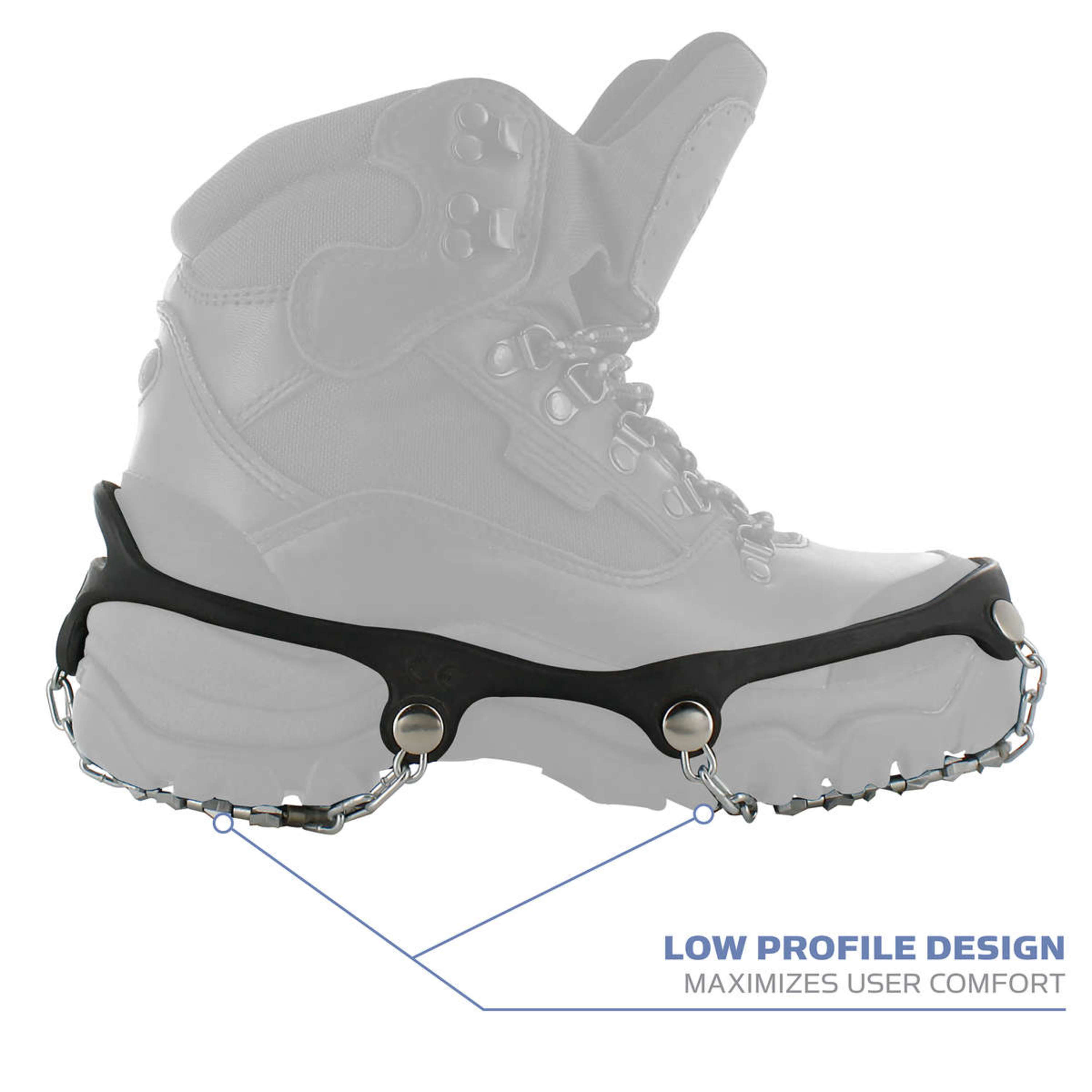 1 Pair Yaktrax Diamond Grip All-Surface Traction Cleats for Walking on Ice and Snow