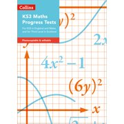 Collins Tests & Assessment – KS3 Maths Progress Tests : For KS3 in England and Wales and for Third Level in Scotland