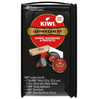 KIWI Leather Care Kit 6 ct