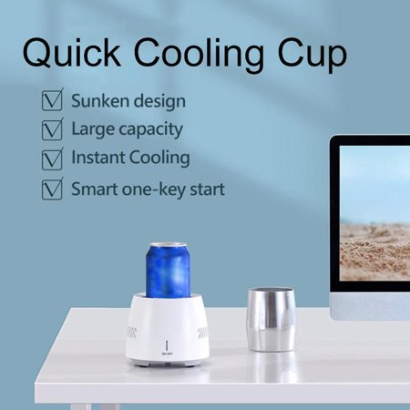 ISBN 9797994923309 product image for [ Fast Cooling ] Electric Drink Cooler Summer Quick Drinking Cooler Electric Pow | upcitemdb.com